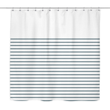 3/4 Stripes Shower Curtains