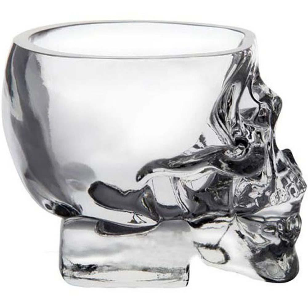 Skull Glass Wine mug