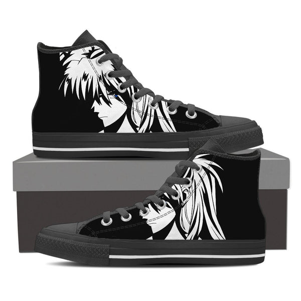Neon Genesis Evangelion High Top Canvas Shoe