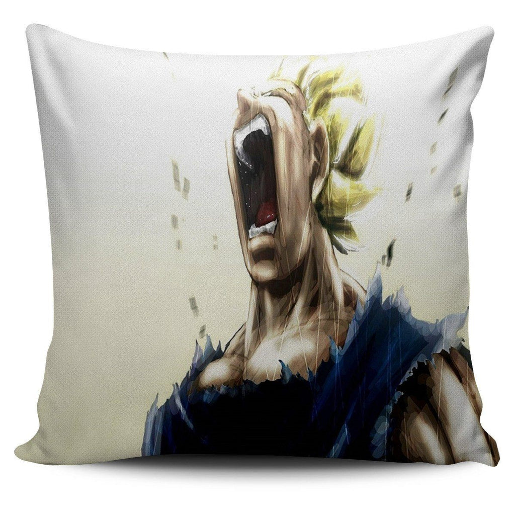 Awesome Saiyan Cry Pillow Cover