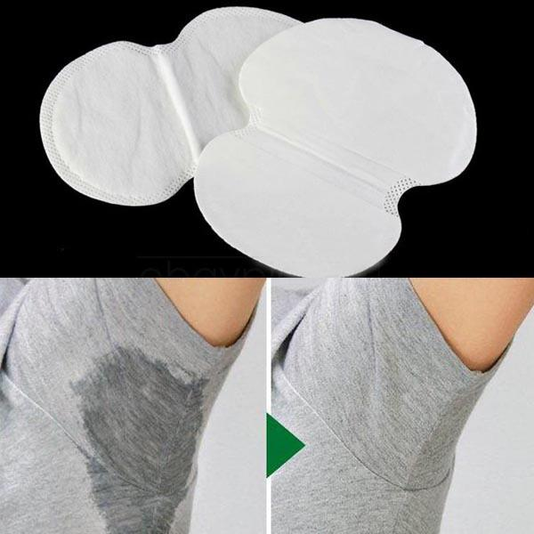 12PCS Disposable Absorbing Underarm Sweat Guard Pads Deodorant Armpit Sheet Dress Clothing Shield Sweat Perspiration Pads que