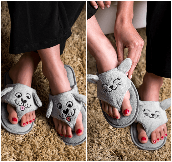 Super Cute, Dog Cozy Flip Flops