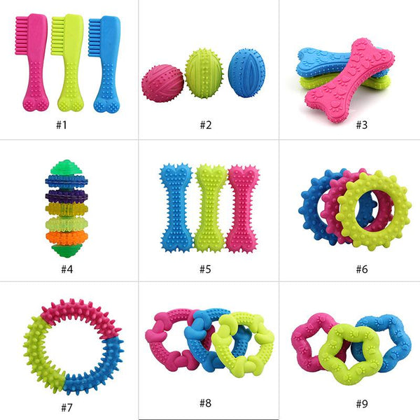 Cute Rubber Resistant Bite Clean Teeth Chew