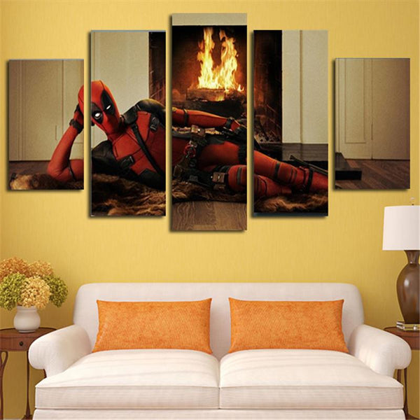 HD Printed Deadpool  Wall Decors