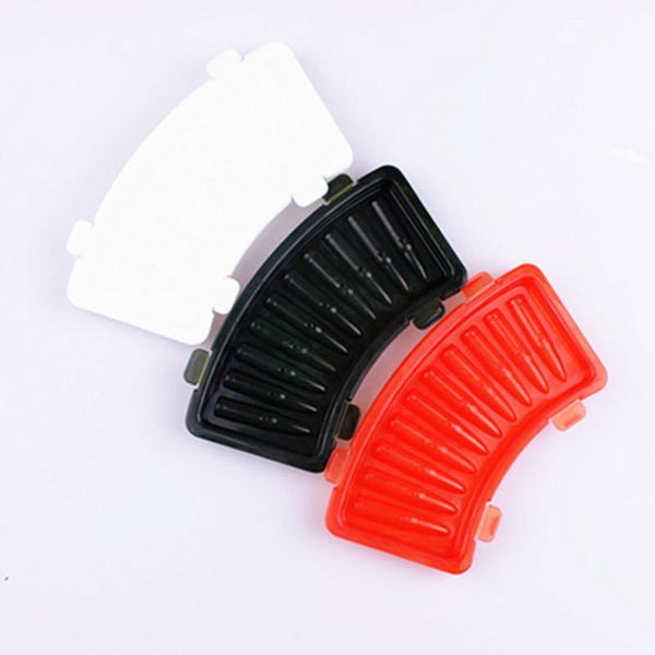 3D AK 47 Bullets Shape Plastic Frozen Ice Jelly Pudding Mold Cube Tray Former Bar Party Drink DIY Mould SQ1022