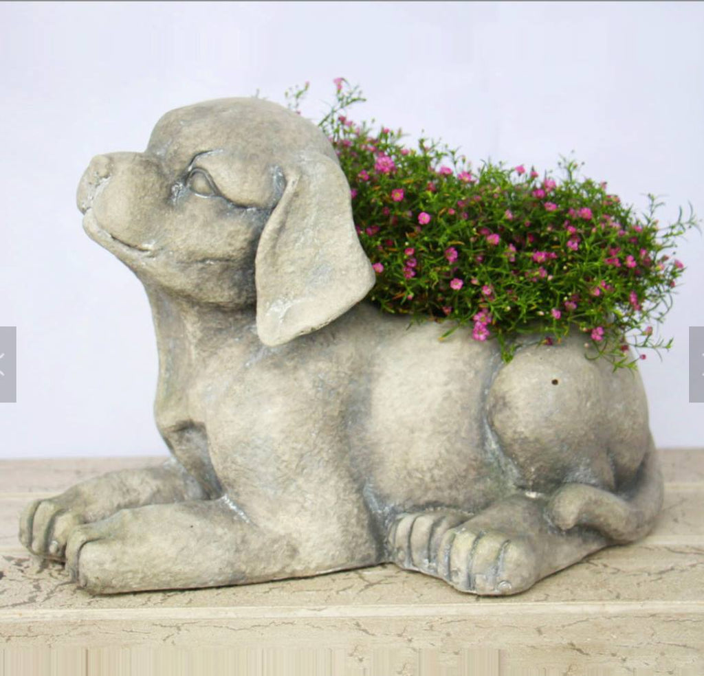 Awesome Puppy Planter