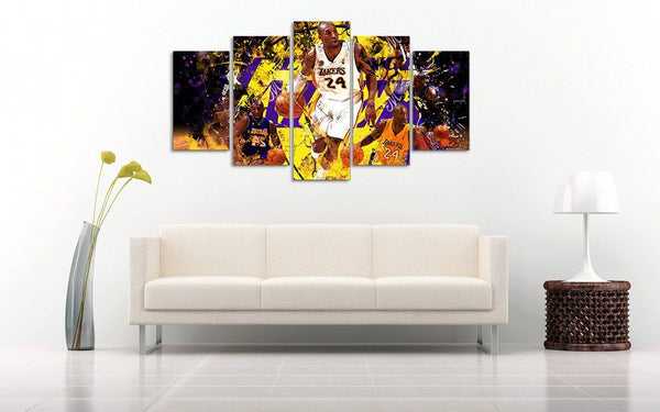 Kobe Wall Canvas