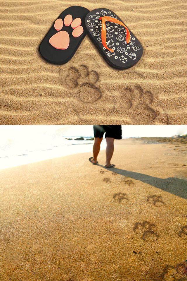 Awesome Cat Paw Sandals