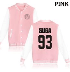 KPOP BTS Bangtan Boys baseball uniform (SUGA)