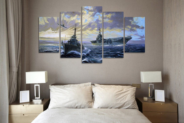 Awesome Navy Canvas