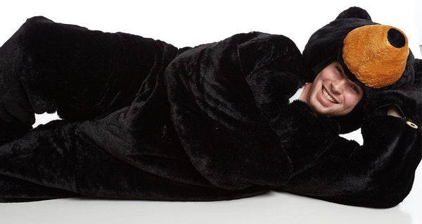 Indoor Stuffed Bear Sleeping Bag