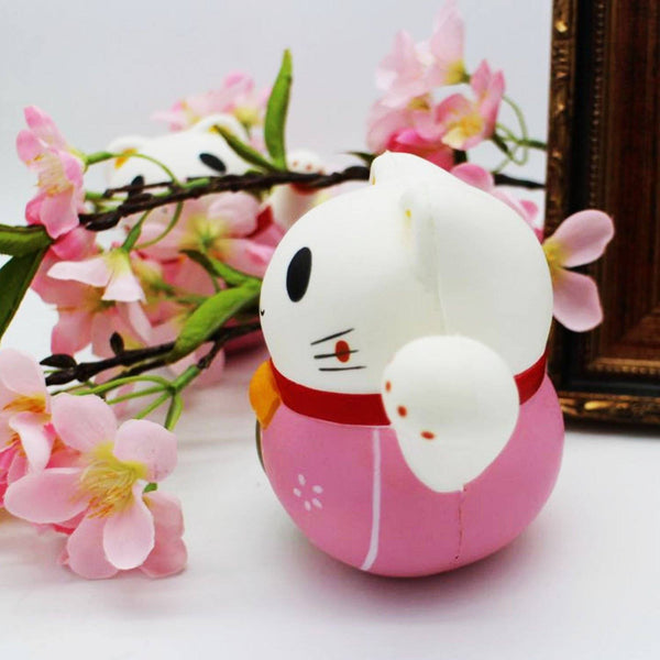 Soft Squishy Fortune Cat Animal Toy Slow Rising