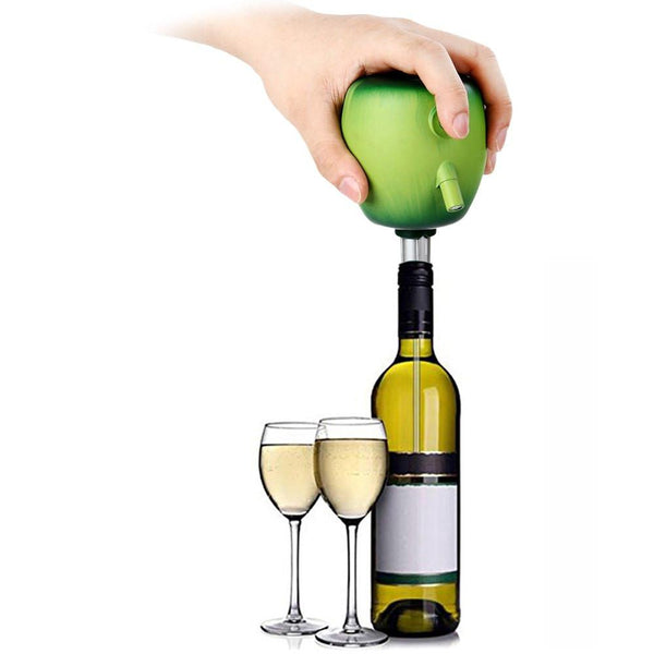 Red Wine Decanter Apple Design