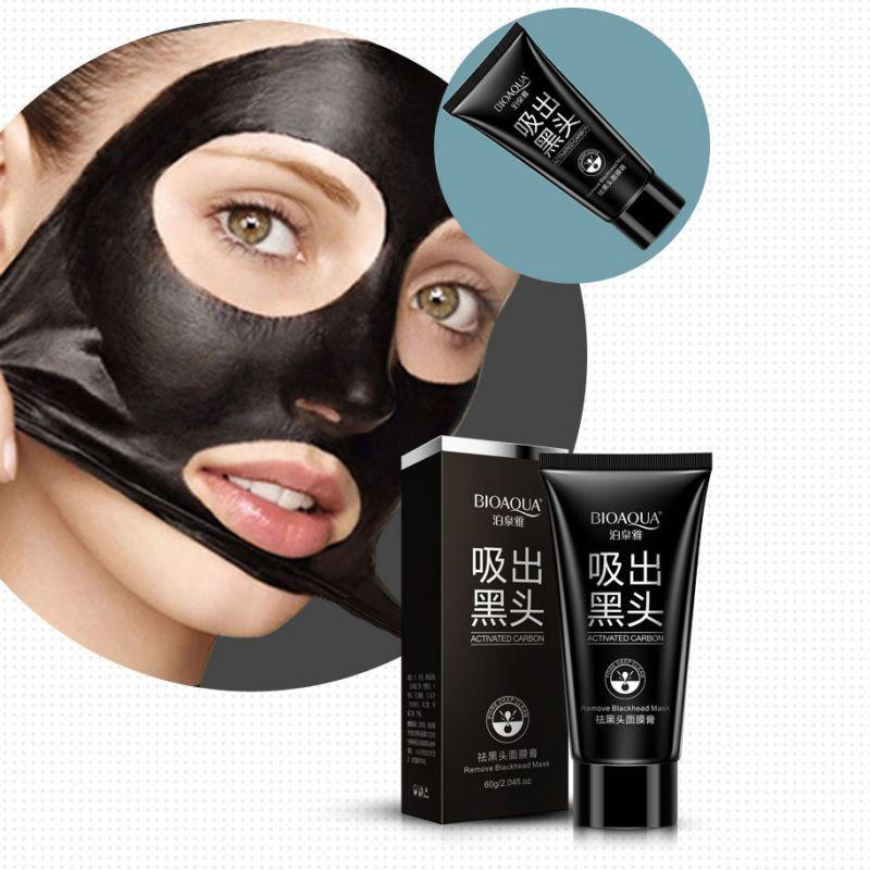 Facial mask pulls out blackheads