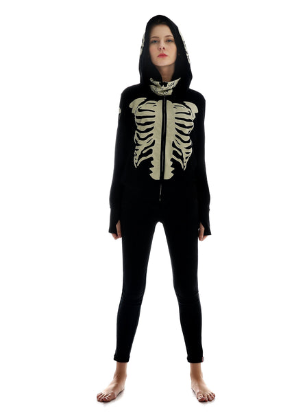 Skully™ The Skull Face Hoodie (Female Version)
