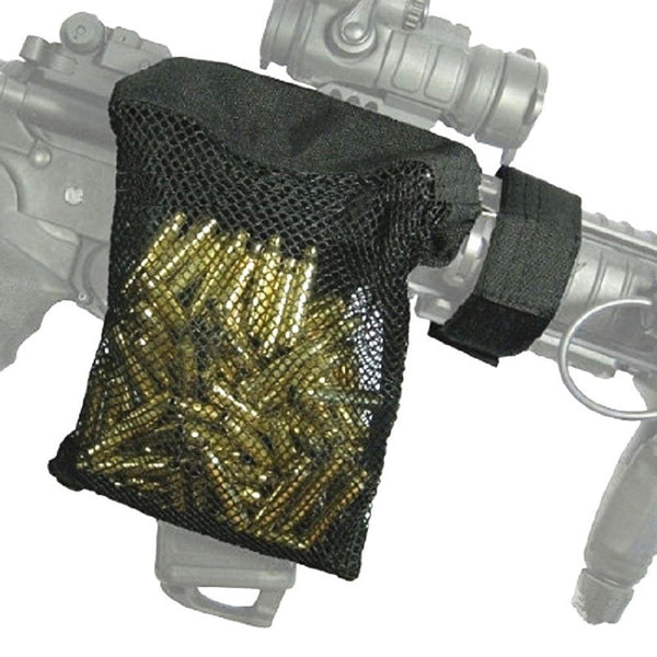 Tactical Rifle Brass Body Catcher Zipper Fastener Quick Unloading AR 15 Cartridges Holster Pouch Hunting Accessories Trap Nylon Mesh