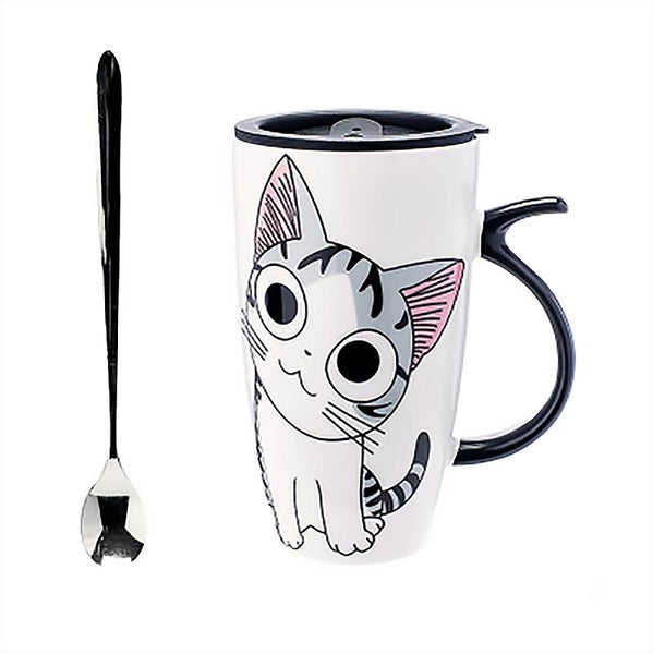 Cute Cat Style Ceramic Mugs
