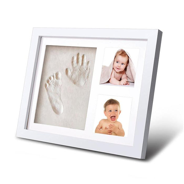 Dog or Cat Clay Paw Print Pet Keepsake Photo Frame With Clay Imprint Kit