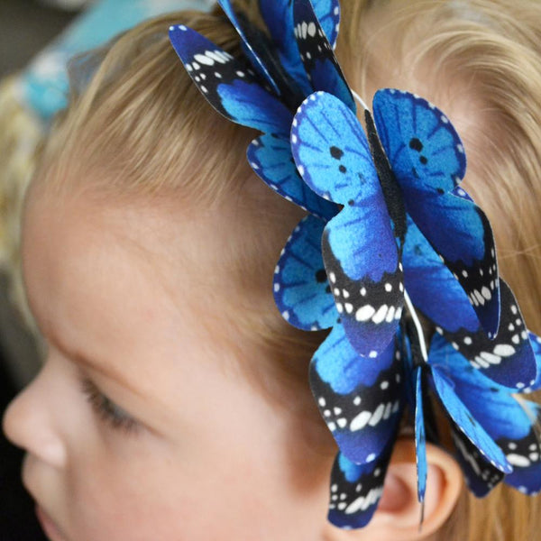 High Quality Simulation Butterfly Hair Band