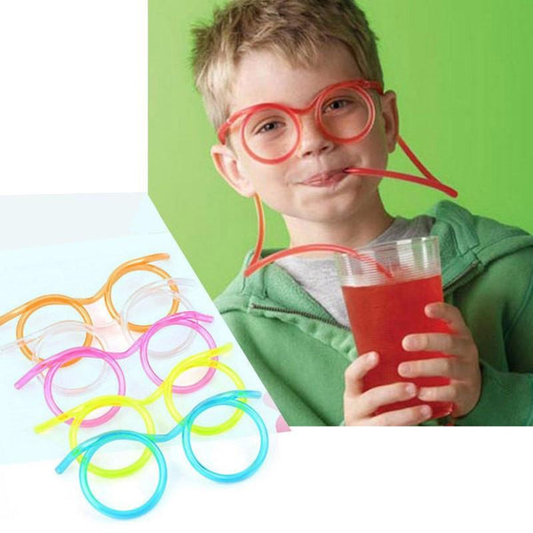 Cute Fun Soft Plastic Straw