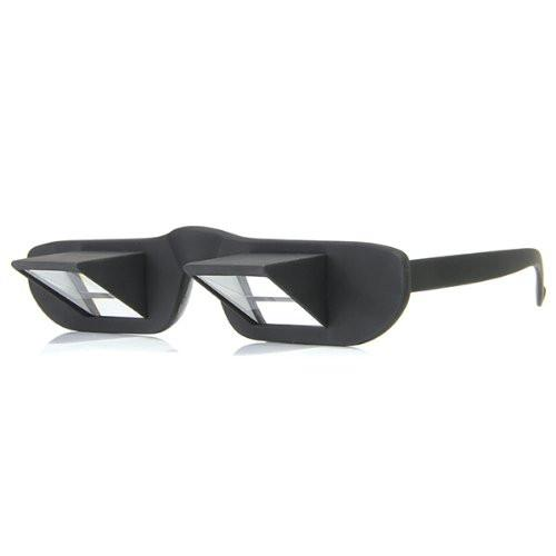HOT SALE!Horizontal Prism Angled Glasses Lazy Lying Down Bed Reading Watching