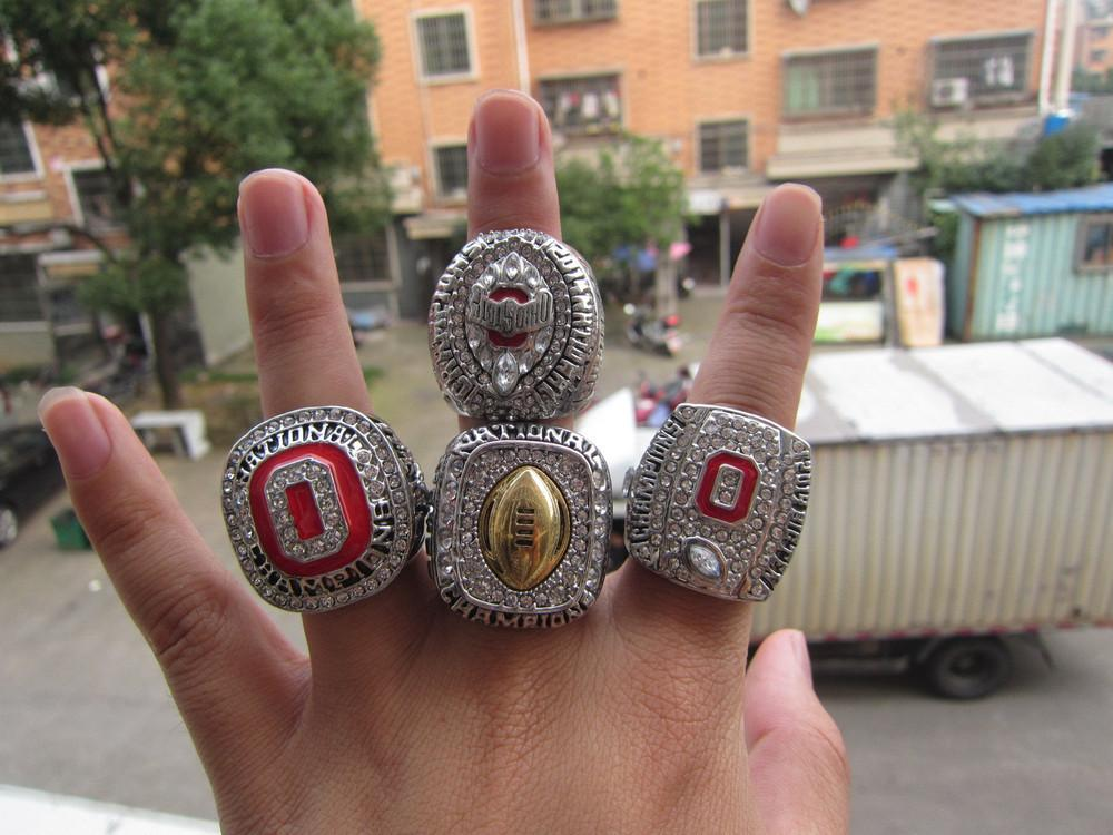Ohio State Buckeyes National Championship Rings