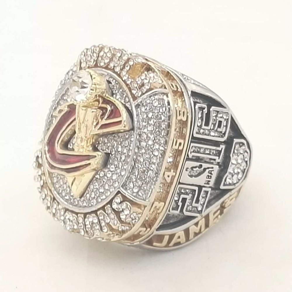2016 CLEVELAND CAVALIERS REPLICA OFFICIAL CHAMPIONSHIP RING