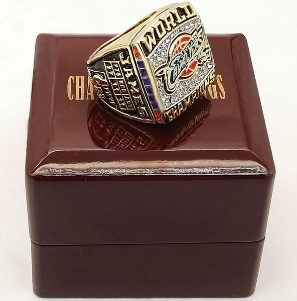 Bottom Price for James 2016 Cleveland cavaliers Basketball custom sports Replica world Championship Rings with wood boxes