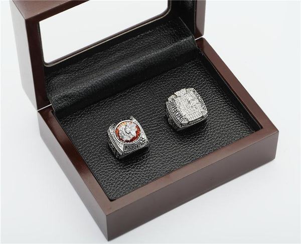 (2PCS) Chicago Blackhawks Championship Rings 2010 2013 Ice Hockey Stanley Cup Rings