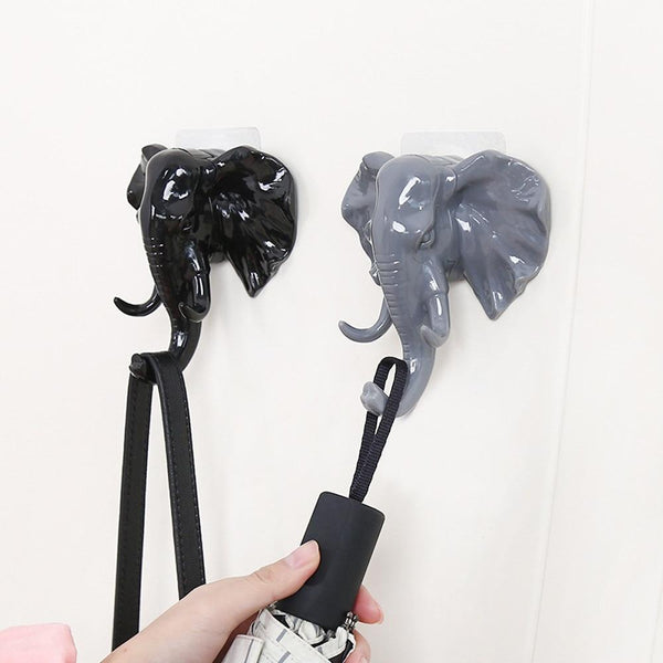 Extremely Detailed  & Attractive Elephant Themed Towel Holders