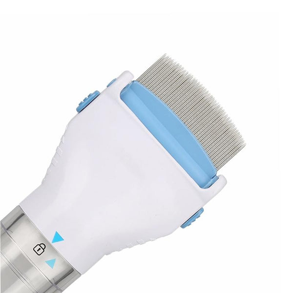 Electric Comb Flea Remover For Pets. Safe, Effective Flea Treatment Without The Use Of Harsh Chemicals.