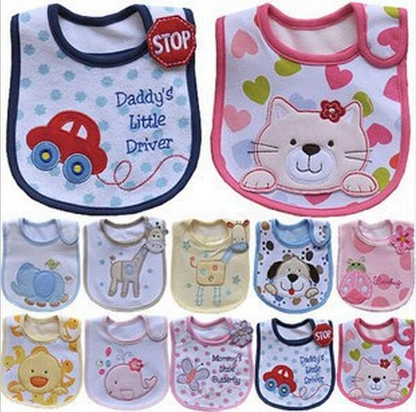 Lovely Cute Cartoon Pattern Toddler Baby Bib
