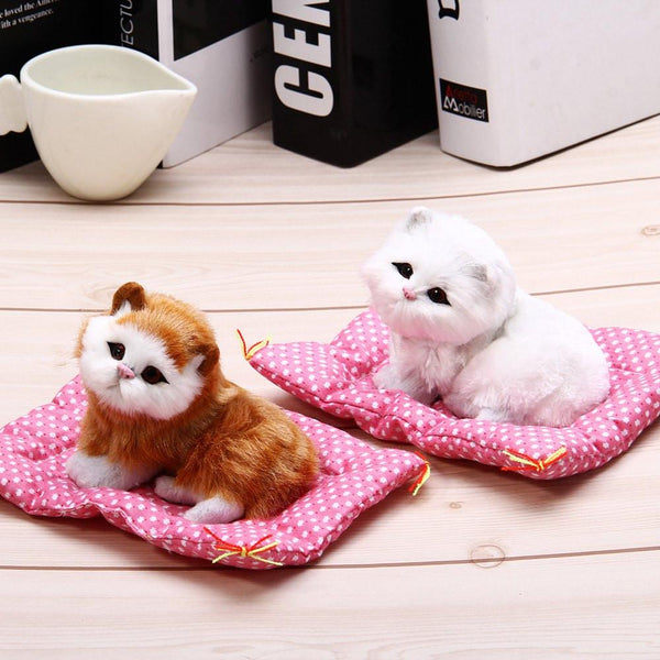 Cute Lovely Sleeping Cat Toy
