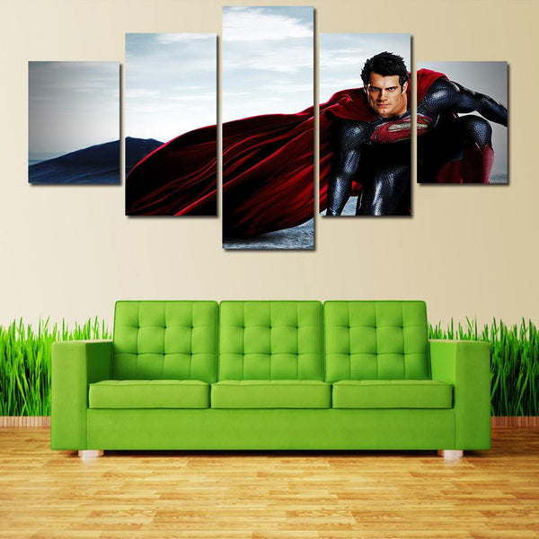Superman HD Picture Canvas Wall Decors