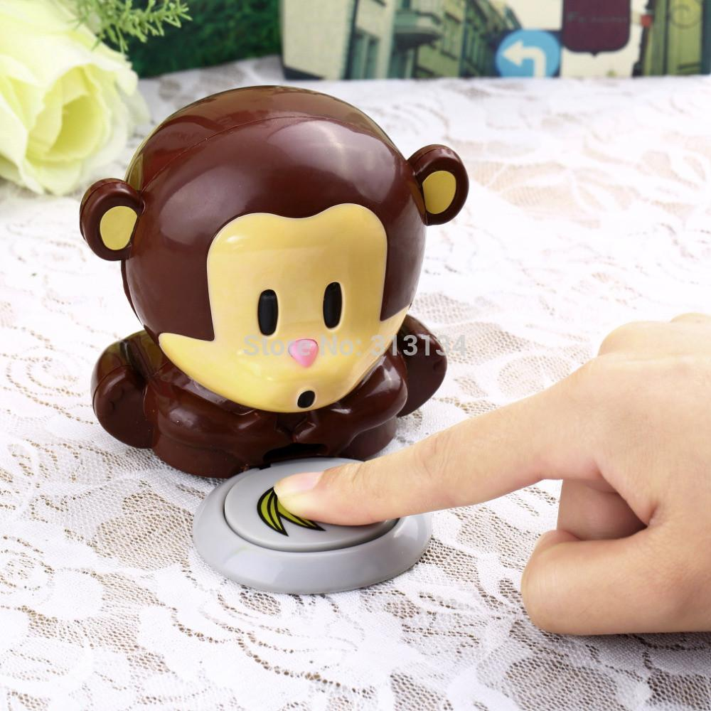 Cute Monkey nail dryers Nail Art Polish Dryer Blower Manicure nail ...