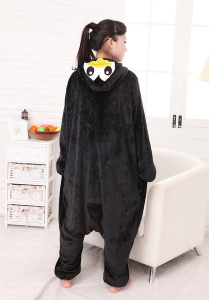 Penguin New Winter Anime Pajamas Adult Animal Black Penguin Cosplay Pajamas Sleepwear Costume Unisex
