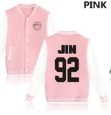 KPOP BTS Bangtan Boys baseball uniform (JIN)