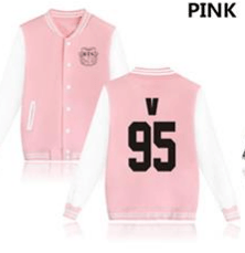 KPOP BTS Bangtan Boys baseball uniform (V95)