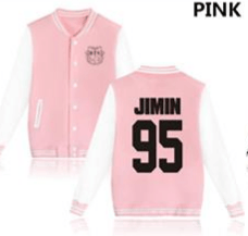 KPOP BTS Bangtan Boys baseball uniform (JIMIN95)