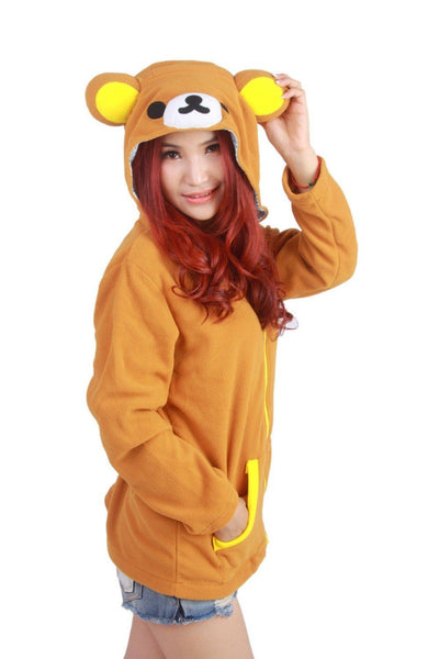 Yellow Bear Cosplay Sweatshirt