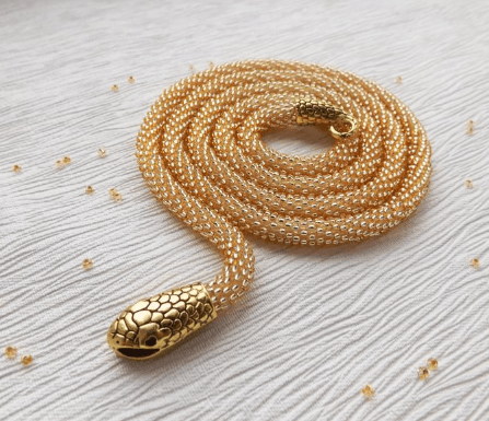 Tribal Snake Necklace