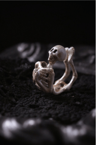 Human Skeleton Ring