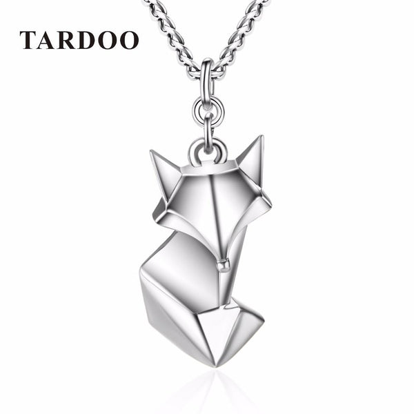 Cute Fox Pendant Necklace