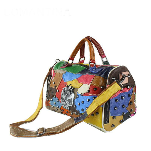 Cool Lady Fashion Skull Punk Bag