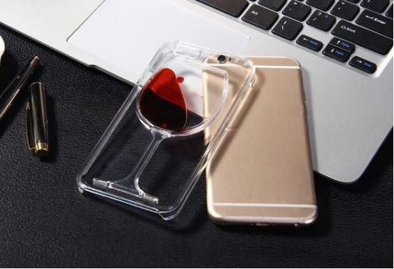 Red Wine Glass iPhone Case - 60% OFF TODAY