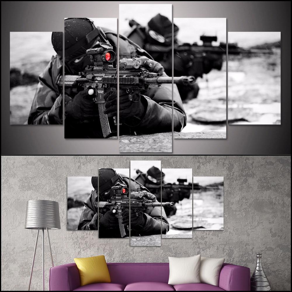 Awesome Navy Seal Canvas