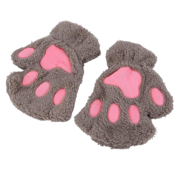 Fluffy Cat Plush Paw/Claw Glove