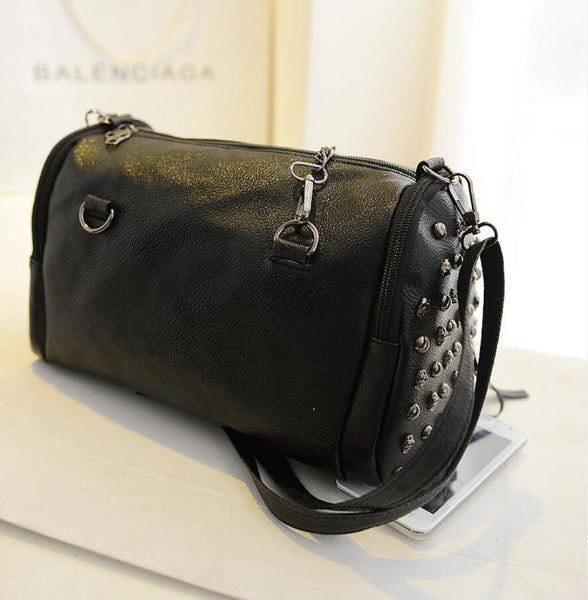 Hot Selling European And American Style Skull Theme Handbag For Women