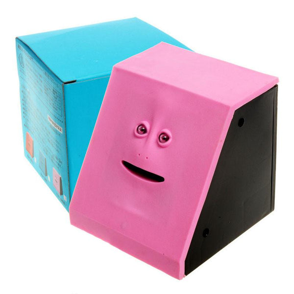 Face Robotic Piggybank