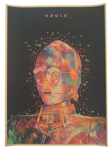 High Quality Star Wars Vintage Posters